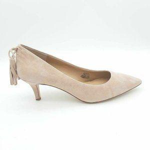 G.I.L.I Dorena Pump Kitten Heels Shoes Pink 7 New